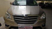 Bán Toyota Innova 2.0E đời 2014, màu vàng, giá 550tr