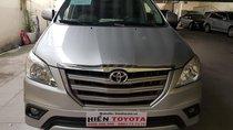 Bán Toyota Innova 2.0E sản xuất năm 2015, màu bạc, giá 580tr