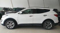 Bán Hyundai Santa Fe 2.4 AT 4WD đời 2015, màu trắng