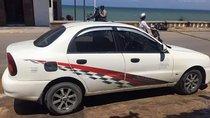 Bán Daewoo Lanos SX đời 2002, màu trắng, xe gia đình