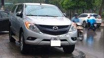 Bán Mazda BT 50 đời 2015, màu bạc, nhập khẩu