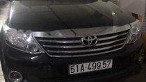 Cần bán lại xe Toyota Fortuner đời 2013, màu đen, xe nhà ít sử dụng, bảo dưỡng định kỳ