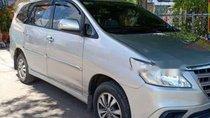 Cần bán Toyota Innova năm sản xuất 2016, màu bạc, xe nhập