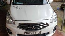 Cần bán Mitsubishi Attrage 1.2 AT sản xuất 2017, màu trắng
