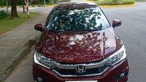 Bán xe Honda City 1.5CVT sản xuất 2018, màu đỏ xe đi ít cần bán lại 535 triệu