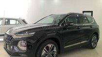 Bán Hyundai Santafe 2019 cao cấp máy xăng, màu đen, tặng 10 triệu - nhiều ưu đãi. LH: 0964898932