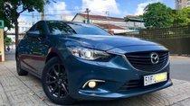 Cần bán gấp Mazda 6 sản xuất 2016, phiên bản 2.0, màu xanh đá 42B, sản xuất và đăng ký 10/2016, odo 20.000 km