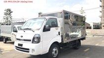 Bán xe tải Kia K200 tải trọng 1,9 tấn, thùng vách bằng Inox, có máy lạnh sẵn, hỗ trợ trả góp