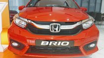 Bán Honda Brio V đỏ, xe nhập khẩu, giá cực rẻ, vay 90% chỉ cần 130Tr nhận xe