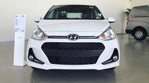 Bán xe Hyundai Grand i10 1.2 AT HB sản xuất 2019, màu trắng, trả trước 120 tr