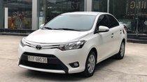 Cần bán Toyota Vios E 1.5 MT 2016, số sàn, màu trắng