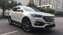 Bán Hyundai Santa Fe 2.4 AT đời 2016, màu trắng số tự động, giá 930tr