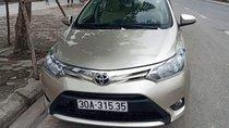 Bán Toyota Vios sản xuất 2014, màu vàng, chính chủ