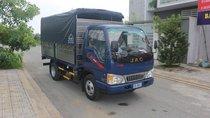 Xe ô tô tải, nhãn hiệu JAC 2.4 tấn thùng dài 3.7m, ga cơ, giá tốt nhất 2019