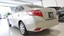 Cần bán xe Toyota Vios 1.5 sản xuất 2018, màu vàng cát, odo: 23.000 km, xe đẹp