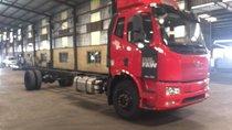 Bán xe ô tô tải thùng dài 9.7m, tải trong 17.9 tấn, nhãn hiệu Faw nhập khẩu 2017