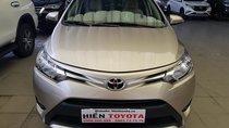 Bán Toyota Vios 1.5E đời 2017, màu vàng cát