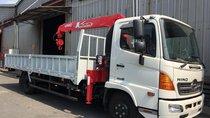 LH: 0901 47 47 38 - Xe tải cẩu Hino 5 tấn, thùng 6.1m, cẩu Unic mới 100%