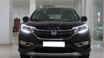 Cần bán Honda CR V sản xuất 2015, màu đen đẹp leng keng