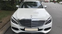 Chính chủ bán Mercedes C250 Exclusive model 2017, màu trắng, nội thất kem, siêu hot, giá 1tỷ 280 triệu
