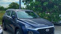 Bán Hyundai Santa Fe đời 2019, màu xanh lam, tặng cả đống phụ kiện, hỗ trợ vay 80% xe LH: 0902.965.732 Hữu Hân