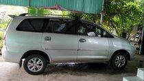 Cần bán Toyota Innova đời 2007, màu bạc