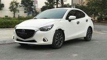 Bán Mazda 2 2019, màu trắng, nhập khẩu, trả góp 90% xe