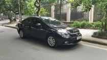 Bán xe Honda Civic 2.0 đời 2013, màu đen, có sổ bảo dưỡng hãng