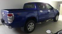 Cần bán lại xe Ford Ranger XLT 2.2L 4x4 MT đời 2015, màu xanh lam, Đk 2015