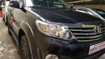 Bán Toyota Fortuner 2.7V 2015, màu đen, 785 triệu