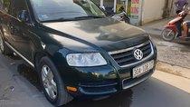 Cần bán Volkswagen Touareg đời 2004, màu xanh lam, xe nhập, đăng ký lần đầu 2008