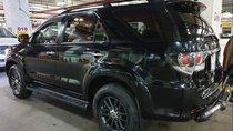 Bán Toyota Fortuner 2,7V AT đời 2016, màu đen
