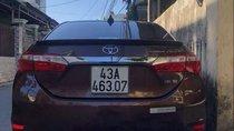Bán Toyota Corolla altis sản xuất năm 2016, màu nâu