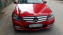 Bán Mercedes C250 năm sản xuất 2011, màu đỏ
