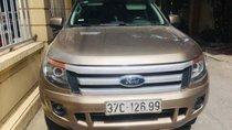 Bán Ford Ranger sản xuất năm 2014, màu vàng cát