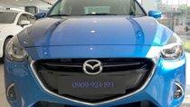 Bán ô tô Mazda 2 sản xuất 2019, màu xanh lam, xe nhập