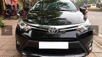 Bán Toyota Vios 1.5G đời 2016, màu đen, số tự động