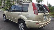 Bán ô tô Nissan X trail đời 2003, màu vàng, nhập khẩu Nhật Bản số sàn