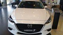 Bán Mazda 3 1.5 AT Facelift sản xuất 2019, màu trắng, giá chỉ 649 triệu