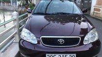 Cần bán Toyota Corolla altis 1.8G MT năm 2002, màu nâu xe gia đình, giá 210tr