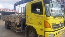Bán xe Hino 8 tấn gắn cần cẩu Tadano 504 màu vàng đời 2015