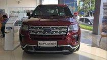Bán Ford Explorer 2018, màu đỏ, nhập khẩu Mỹ