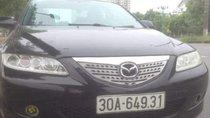 Bán Mazda 6 năm sản xuất 2003, màu đen, giá 215tr