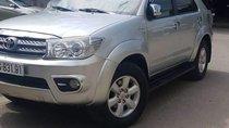 Bán Toyota Fortuner sản xuất năm 2012, màu bạc, 550tr