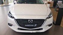 Bán Mazda 3 2019, màu trắng, mới hoàn toàn