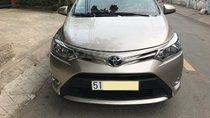 Gia đình cần bán xe Toyota vios 2017, số tự động, màu vàng cát
