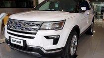 Bán Ford Explorer Limited 2.3 Ecoboost AT 4WD đời 2019, màu trắng, nhập khẩu Mỹ
