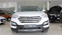 Bán Hyundai Santa Fe 2.4AT 4WD 7 chỗ sx 2015, màu trắng, giá tốt