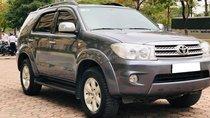 Bán Toyota Fortuner 2010 máy dầu, xám chì, xe đi kỹ