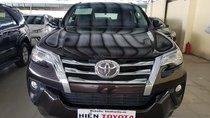 Bán Toyota Fortuner 2.4G sản xuất 2017, màu nâu, nhập khẩu, giá 990tr